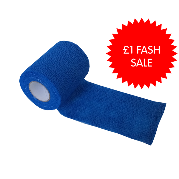 Latex Self Adhering Elastic Bandage 7.5cm x 4.5m - Single