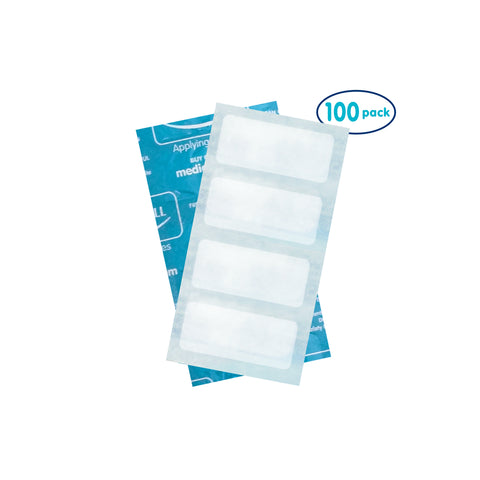 Cool Cubes - For use with Dental Ice Pack's Cover 100 Pack