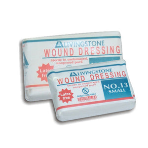 Dressing Sterile Wound No.13 Small Latex Free (Pack of Six)