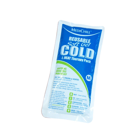 Medium Soft Gel Ice Pack Reusable Hot/Cold