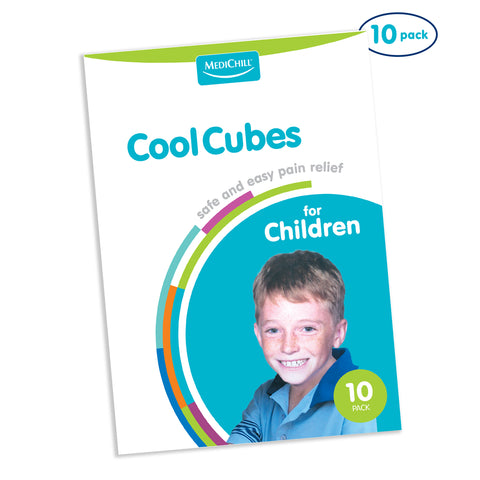 Cool Cubes for Children 12x17cm 10 Pack