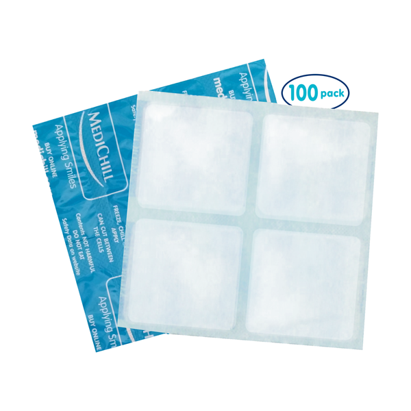 IP4 Cool Cubes - Square 15x15cm 100 Pack