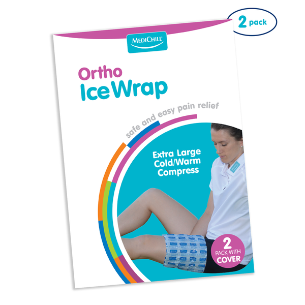 Orthopaedic Ice Wrap Twin Pack 22x46cm