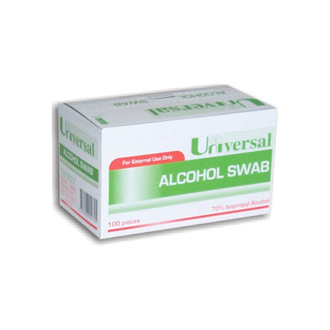 Swabs Alcohol Wipes (Box of 100)