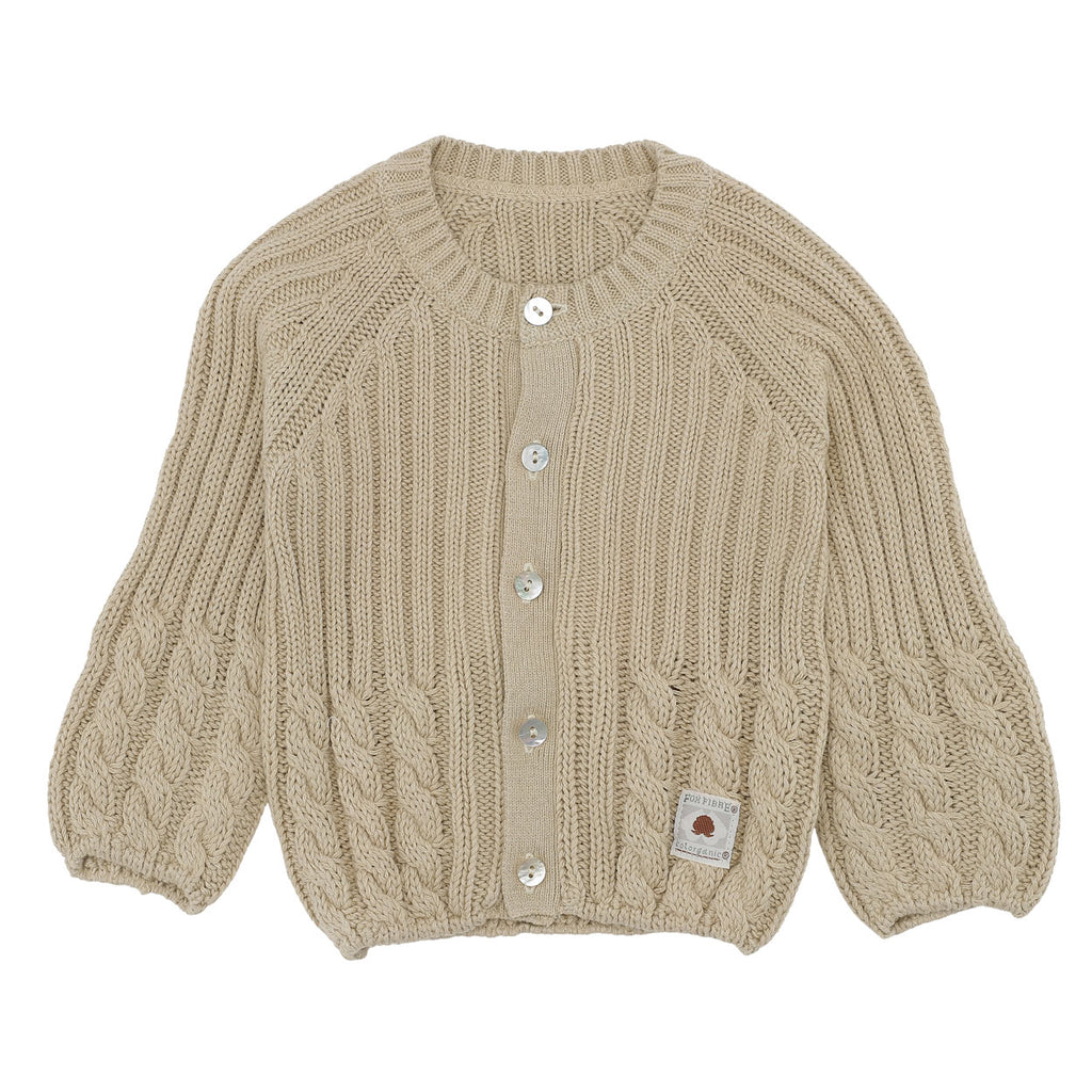 Sweater med knapper til baby