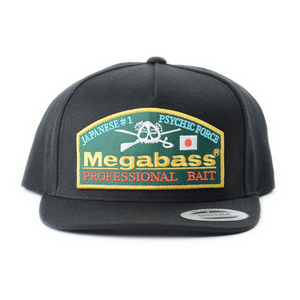 Megabass Throwback Snapback Hat