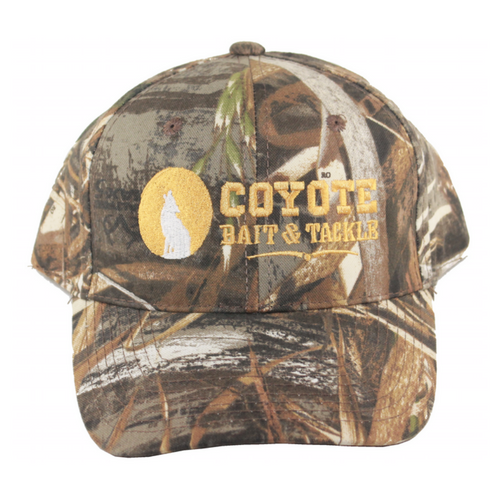 Coyote Bait and Tackle Velcro Hats