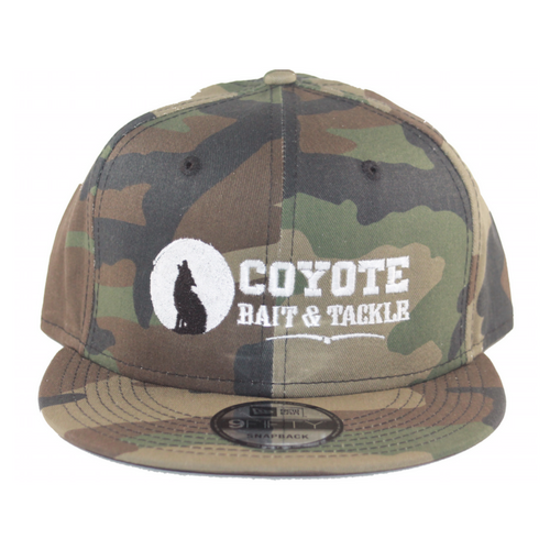 Coyote Bait and Tackle New Era Snap Back