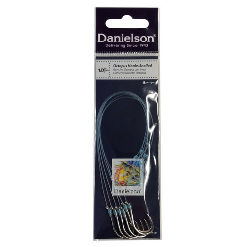 Danielson Snelled Octopus Hook