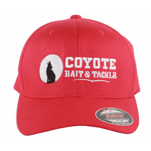 f0584e8c15705 Coyote Bait and Tackle Flex Fit Hats – Coyote Bait   Tackle