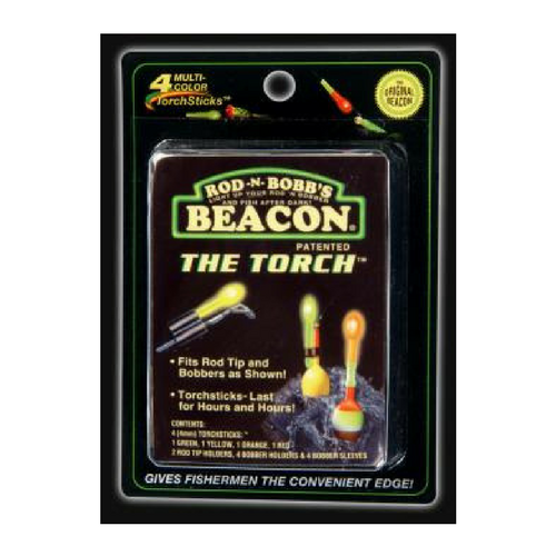 Rod-N-Bobb's Beacon The Torch Light Stick - 4 Pack Multi-Color