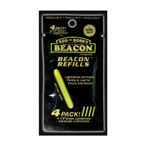 Rod-N-Bobb's Universal Beacon 4 Pack Refill - Light Sticks