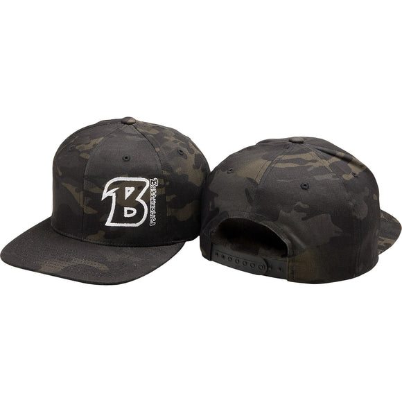 Bassaholics Flex Fit Snapback Hat (B Addicted)