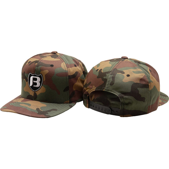 Bassaholics Shied Camo Hat