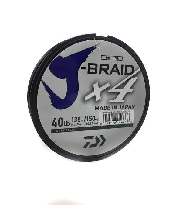 Daiwa J Braid X4 Braided Line