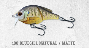 Live Target Koppers Sunfish Wakebait