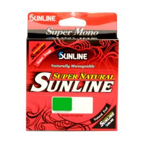 Sunline Super Natural Monofilament Line