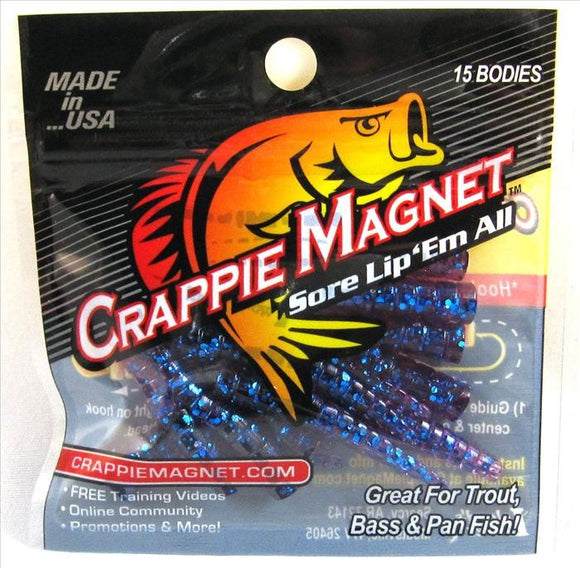 Crappie Magnet Body Pack 15pk