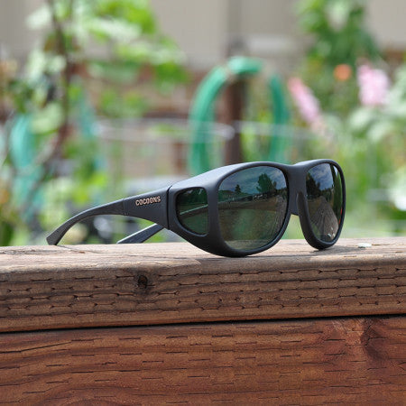 Cocoons Pilot Black Gray Sunglasses