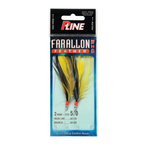 P-Line Farallon Feather Rock Cod Rigs