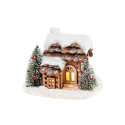 Snowy Pine LED House/Porch Small