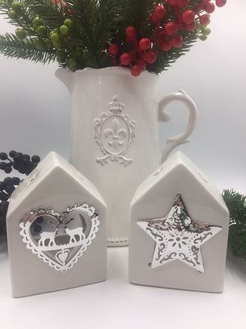 White House Style Tealight Holder - 4 designs available