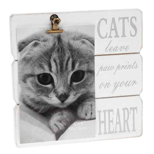 Message Clip Photo Frame - Dog & Cat