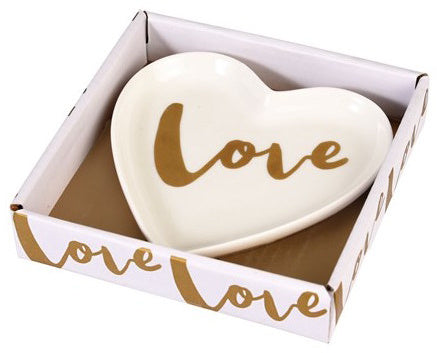 Ceramic Heart Shaped Love Dish