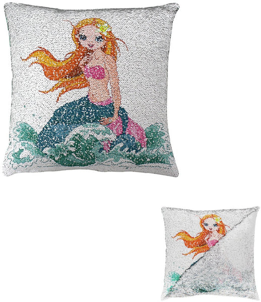 'Magic' Mermaid Sequin Cushion