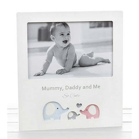 Mummy, Daddy & Me Photo Frame - 3 designs available