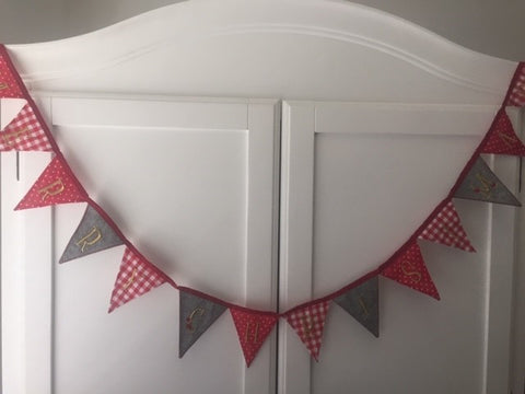 Merry Christmas Miniature Bunting