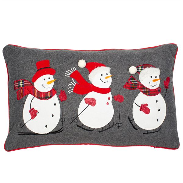 Snowies Christmas Cushion