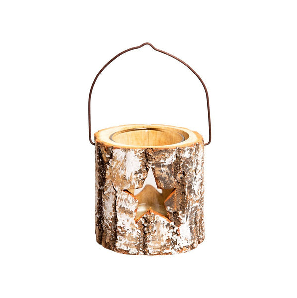 Winter star tealight holder