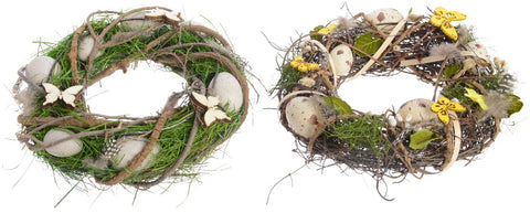 Willow Easter Wreaths