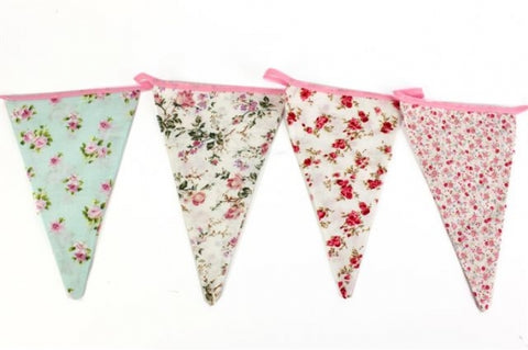 Country Chic Floral Bunting