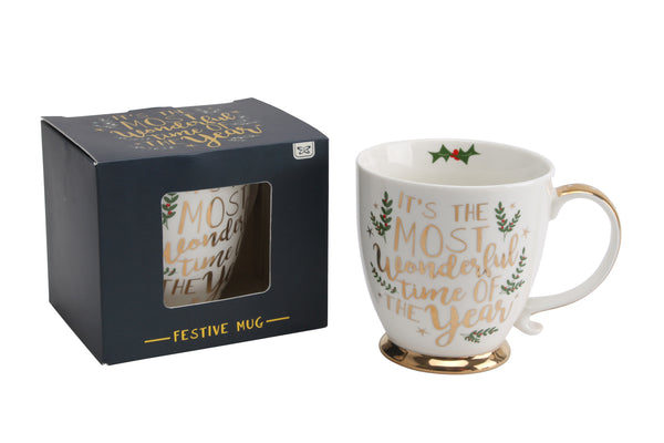 Festive Mugs - 2 designs available