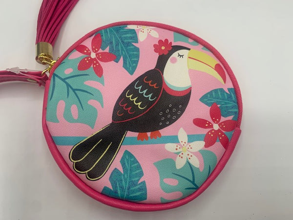 Round Coin Purse - 2 designs available