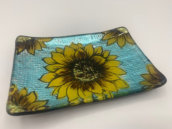 Sunflower Trinket Dish
