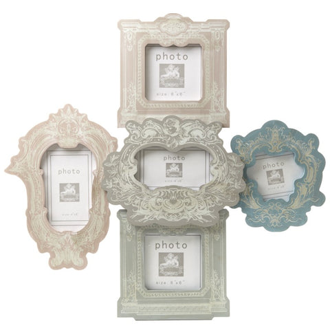 Colourful Multi Photo Frame