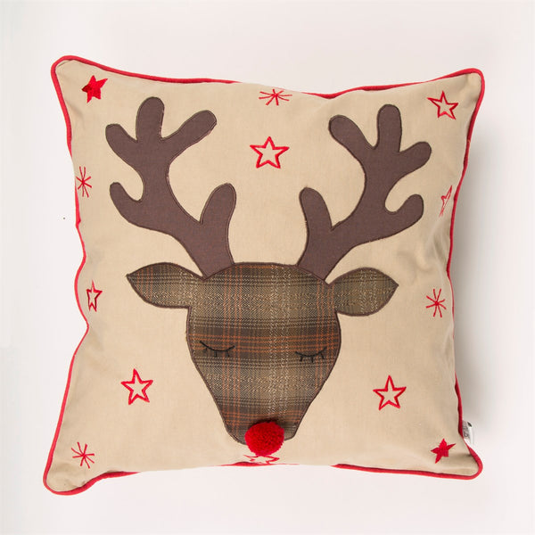 Rudi Reindeer Cushion