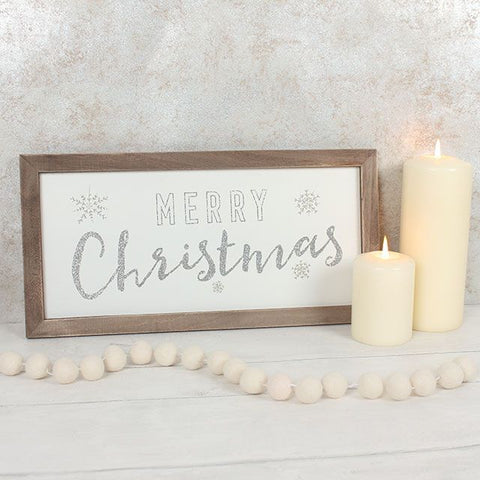 Rustic Christmas Framed Art
