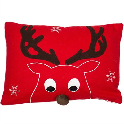 Prancer Christmas Cushion