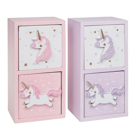 Unicorn Design 2 drawer chest