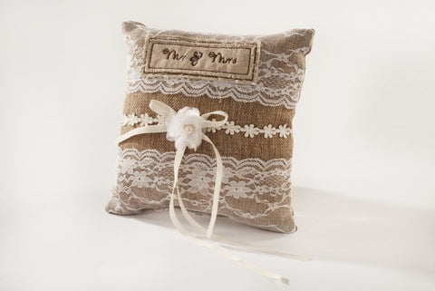 Mr & Mrs Wedding Cushion
