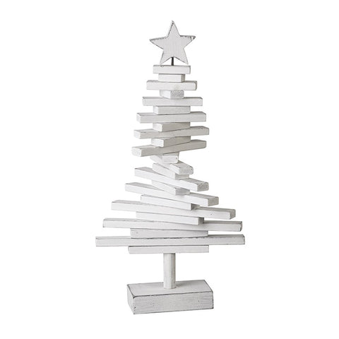 White Wooden Contemporary Tree
