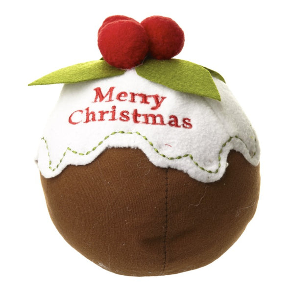 Christmas Pudding Door Stop
