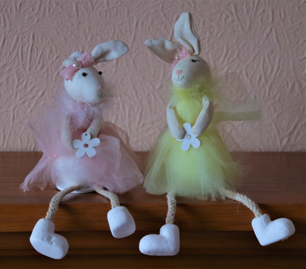 Easter mice with dangly legs
