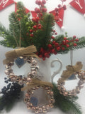Small Hanging Bell Wreath