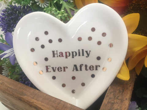 Ceramic The Happy Couple Dish - 2 designs