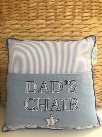 Small Dad's Chair Cushion